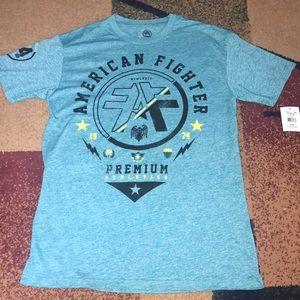 Men's American Fighter Shirt Centerfield  L NWT